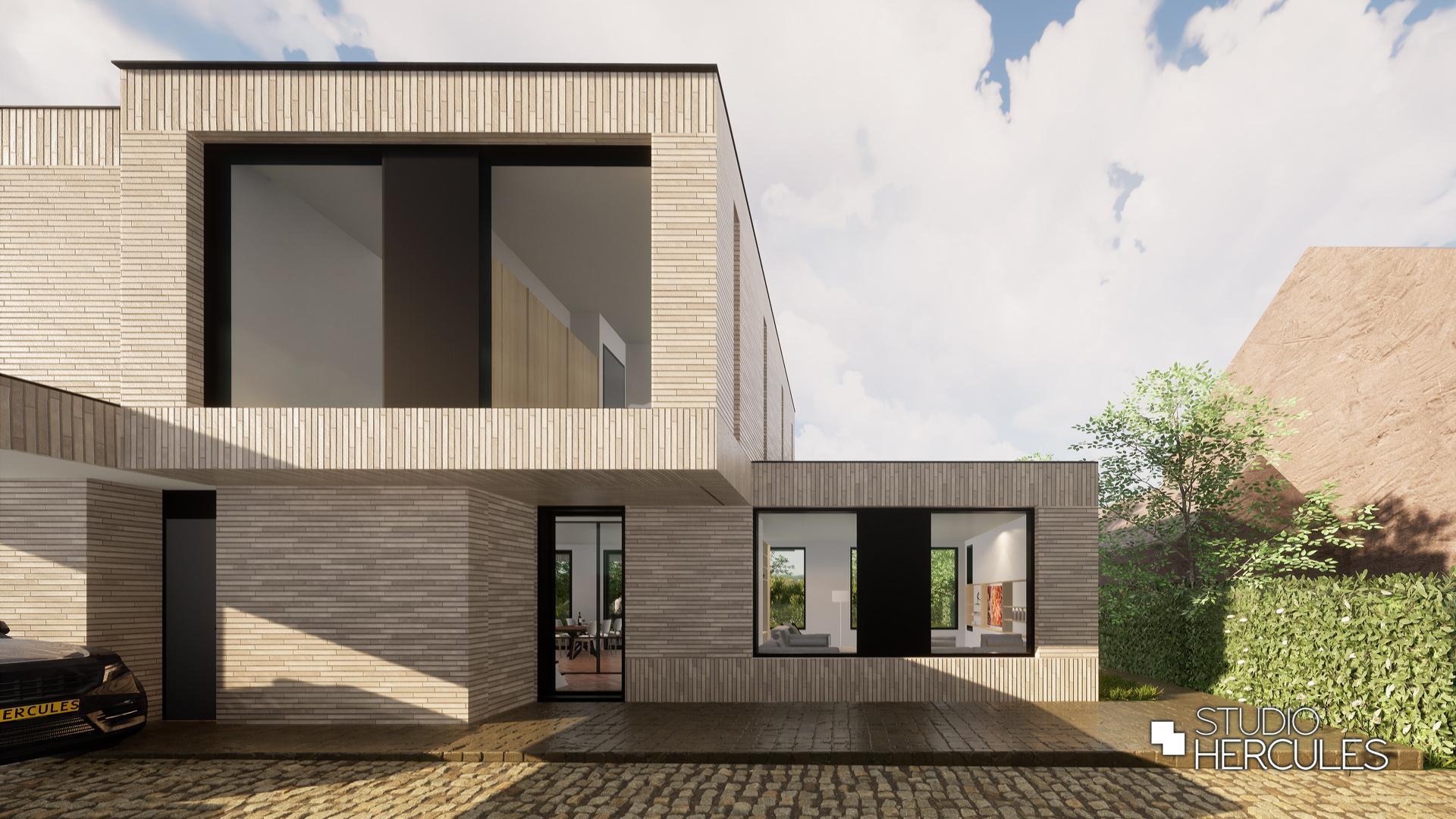Exclusief ontwerp van moderne architect