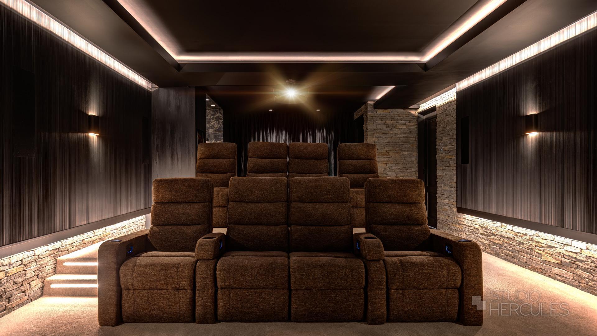 Home cinema villa Zuid-Holland
